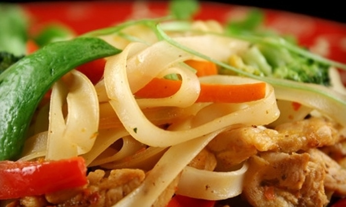 Thai Recipes - Downtown Core: Thai Cuisine for Two or Four at Thai Recipes (Half Off)