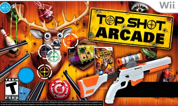 Top Shot Arcade with Top Shot Elite Gun Peripheral for Wii: Top Shot Arcade with Top Shot Elite Gun Peripheral for Wii. Free Shipping and Returns.