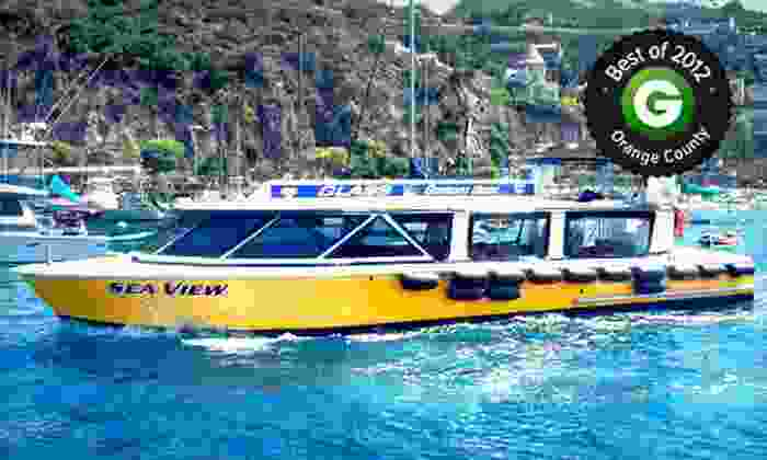 Catalina Adventure Tours - Catalina Adventure Tours: 45-Minute Tour for Two or Four on a Glass-Bottom or Semisubmersible Boat from Catalina Adventure Tours (Up to 65% Off)
