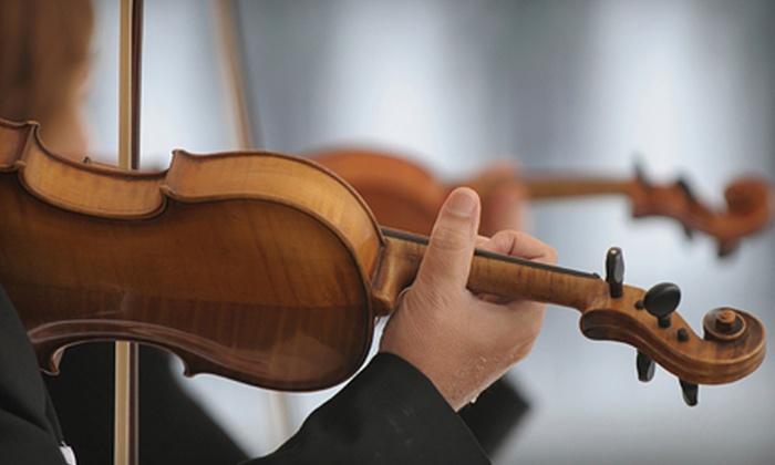Beaufort Symphony Orchestra - Saint Helena Island: $37 for Two to See Beaufort Symphony Orchestra's Symphonic Showcase on October 11 or 14 ($75 Value)