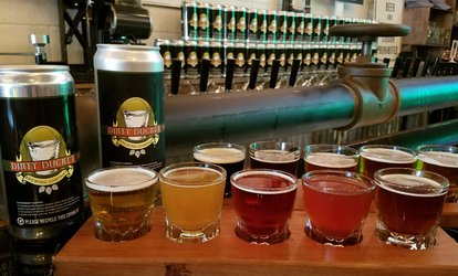 image for Tasting for Two, Valid: Monday–Wednesday at Dirty Bucket Brewing Co (Up to 36% Off)