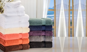 Superior Absorbent Zero Twist 100% Cotton Towel Collection