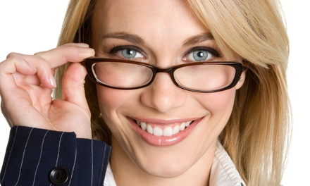 $49 for an Eye Exam and $200 Towards a Complete Pair of Glasses at Pearle Vision ($300 Value)