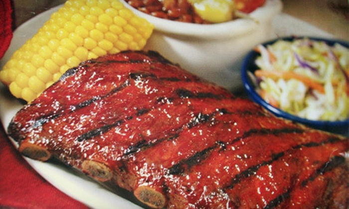 Ribs on The Run - White Plains: Barbecue at Ribs on The Run (Half Off). Two Options Available.