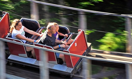 Amusement-Park Entry for Two or Four at Upper Clements Park (Up to 49% Off).  Four Options Available.