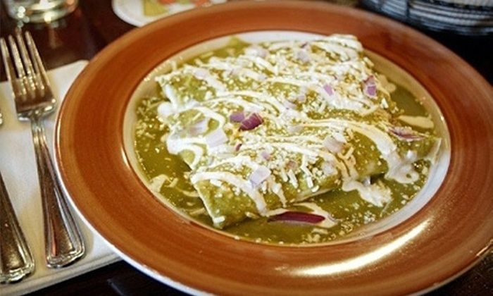 Adobo Grill - Downtown Indianapolis: Mexican Food and Drinks at Adobo Grill (Up to 50% Off). Two Options Available.