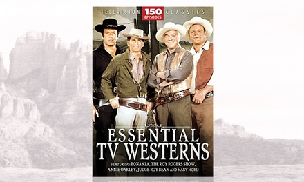 Essential TV Westerns 150-Episode Set