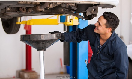 $32 for Oil-Change Package at Hancock's Automotive ($132 Value)