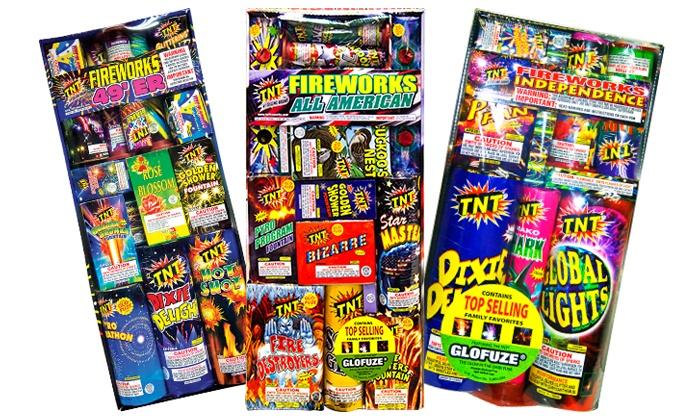 TNT Fireworks - Jacksonville: $10 for $20 Worth of Fireworks at TNT Fireworks Stands & Tents