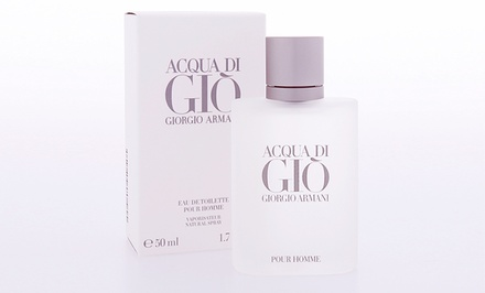 groupon daily deal - Acqua di Gio by Giorgio Armani for Men Eau de Toilette Spray 1.7 Fl. Oz.