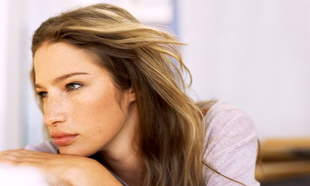 Haircut and Blow-Dry with Optional Partial or Full Highlights at Hair By Marshell (Up to 68% Off)