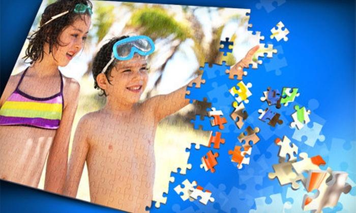 PuzzMuzz.com - Santa Barbara: Personalized Photo Puzzles from PuzzMuzz.com (Up to 60% Off). Three Options Available.