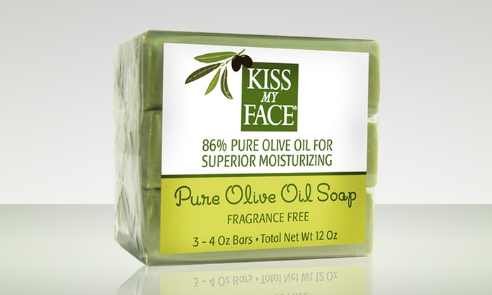 Olive oil facial soaps