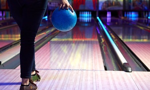 Cosmic Bowl at M&D's Theme Park : Bowling with Draught Soft Drinks for Four or Six at Cosmic Bowl at M&D's Theme Park  (Up to 49% Off)
