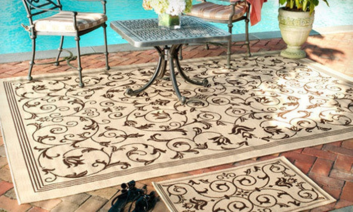 Safavieh Indoor-Outdoor Rugs: Two Safavieh Indoor-Outdoor Rugs (Up to 57% Off). Three Styles Available. Free Shipping.