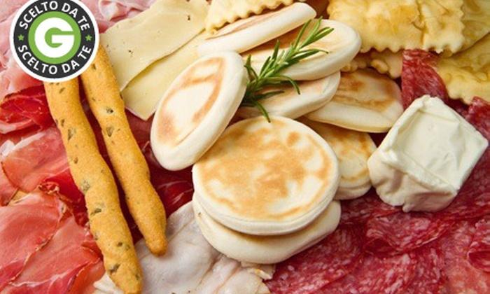 PIZZERIA DA ORAZIO - PIZZERIA DA ORAZIO: Menu tigelle e gnocco fritto all you can eat con vino o birra da 19 € invece di 90,50