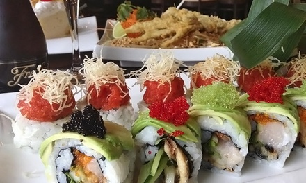 $55 for a Three-Course Dinner for Two with Champagne at Maki Sushi & Noodle Shop (Up to $106 Value)