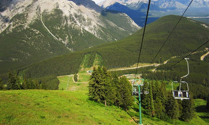 Discover Banff Tours - Banff Mount Norquay: Banff Sightseeing Chairlift Ride for Two, Four, or Six from Discover Banff Tours (Up to 34% Off)