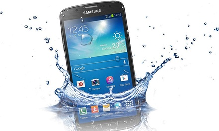 Abilene, TX: Samsung Galaxy S4 Active Unlocked GSM Smart Phone in Blue or Gray