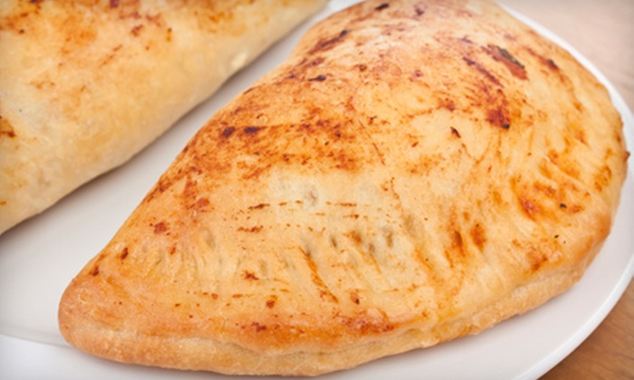 Zonies - Henrietta: Calzone Meals with Soft Drinks at Zonies (Up to 53% Off). Three Options Available.