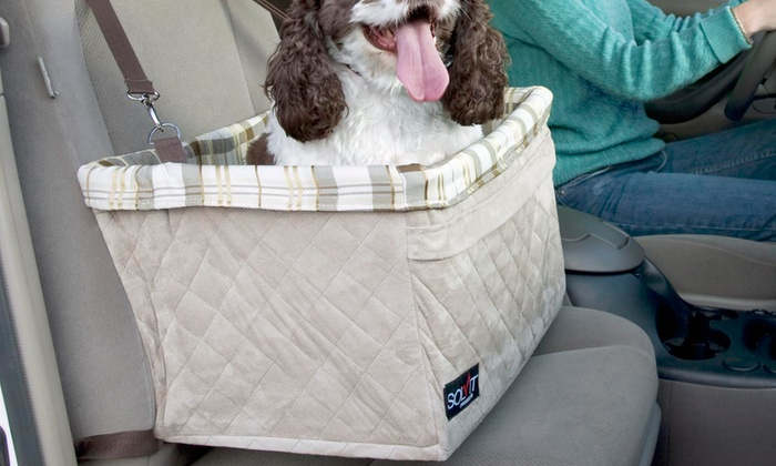 Pet Booster Seat >> Up To 53 Off On Solvit Deluxe Pet Booster Seat Groupon Goods