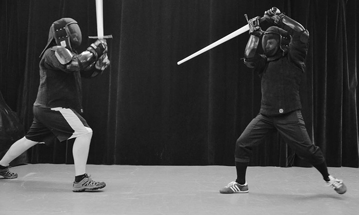 Sword Class NYC - Ripley Gier Studios: Samurai-Sword, German Longsword, and Kendo Classes at Sword Class NYC (Up to  67% Off). Four Options Available.