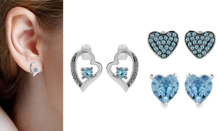 From $19 for Swarovski Heart-Shaped Earrings (Don't Pay up to $149.99)