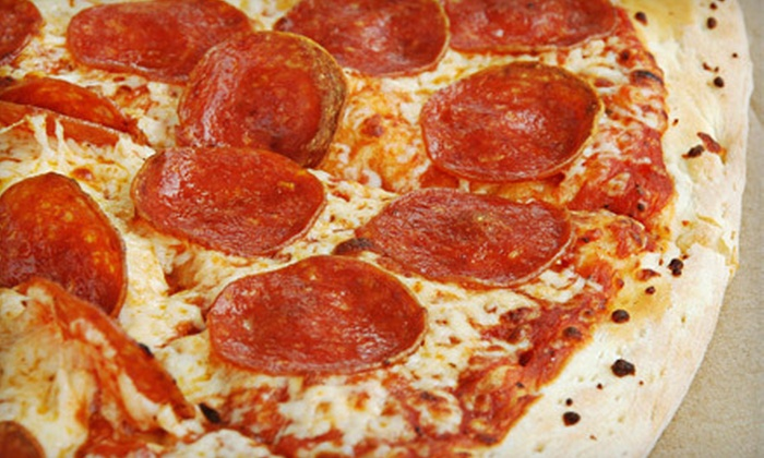 Sliceria Pizzeria - Brooklyn: One or Two Pizzas, Garlic Knots, and 2-Liter Sodas at Sliceria Pizzeria (Up to 72% Off)