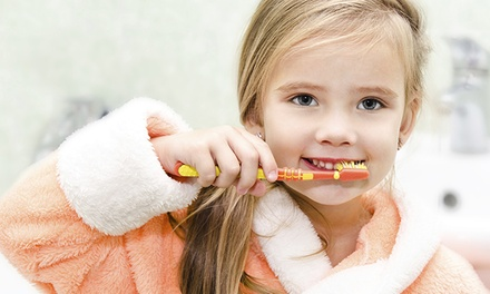 Kids' Dental Exams with Optional Four Sealants for One or Two Kids at Envy Smile Dental Spa (Up to 92% Off)