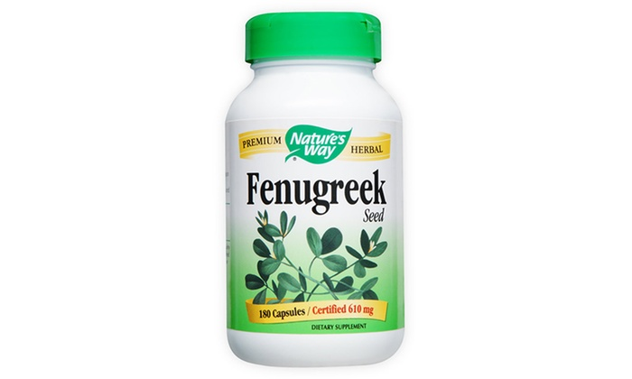$5.99 for 180 Capsules of Nature's Way Fenugreek Seed Supplement