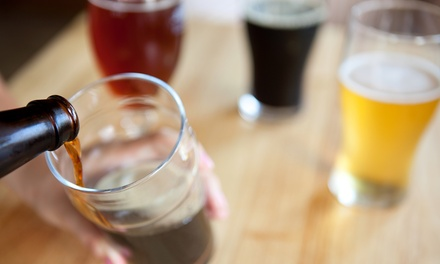 Beer-Tasting Package for Two or Four at Sick-N-Twisted Brewing Company (Up to 42% Off)