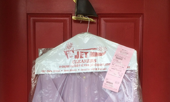 Jet Cleaners - Hartford: $25 for $50 Worth of Dry Cleaning Pickup and Delivery from Jet Cleaners