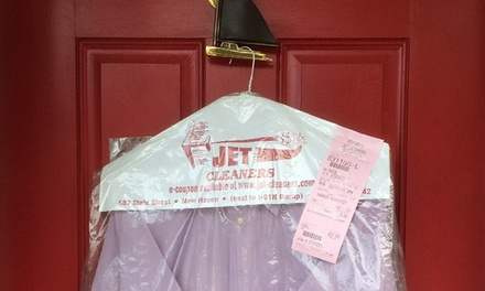 $25 for $50 Worth of Dry Cleaning Pickup and Delivery from Jet Cleaners