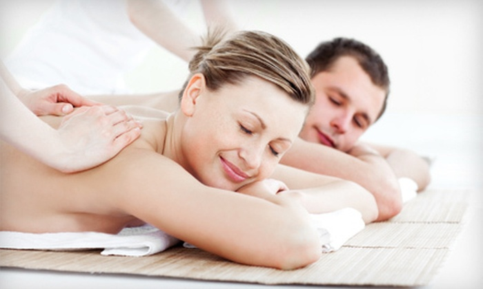 Spa J'Adore - Civic Center: $95 for One-Hour Couples Massage with Champagne and Strawberries at Spa J'Adore ($191 Value)