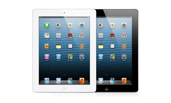 """Apple 64GB iPad 4 with Retina Display, WiFi, and AT&T 4G: Apple 64GB iPad 4 9.7"""" Tablet with Retina Display WiFi and AT&T 4G. Multiple Colors Available. Free Returns."""