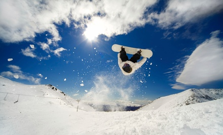 Snowboard Tune-Up, Winter Sports Gear, or Ski Tune-Up at Cutting Edge (Up to 52% Off)