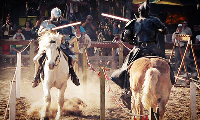 Sherwood Forest Faire - Sherwood Forest: One-Day Admission for Two or Four at Sherwood Forest Faire (Up to 53% Off)