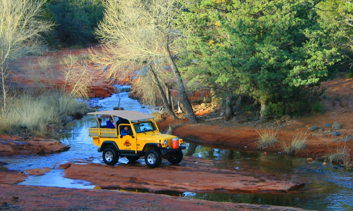 A Day in the West - Sedona: $152 for a Jeep & Winery Combo Tour for Two from A Day in the West (Up to $258 Value)