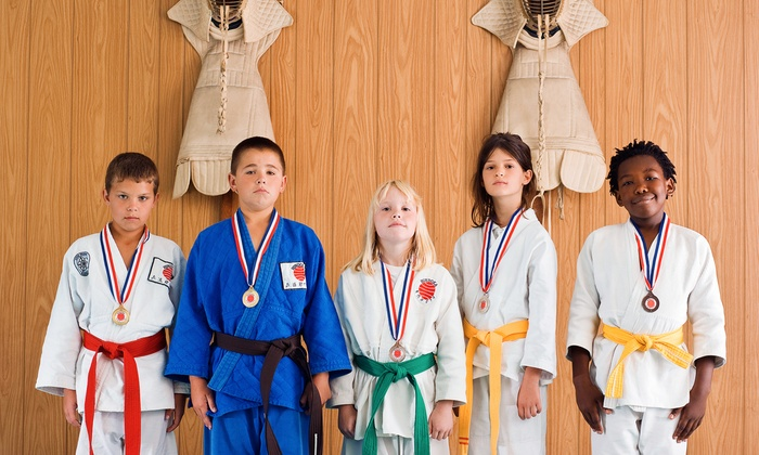 Karate 4 Kids USA - Valley Village: 12 or 16 Kids' Karate Classes with Uniform and Optional Belt Testing at Karate 4 Kids USA (Up to 86% Off)