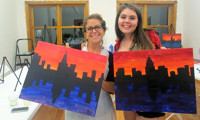 The Paint Place - Upper West Side: Two-Hour BYOB Painting Class for One, Two, or Four Including Supplies at The Paint Place (Up to 58% Off)