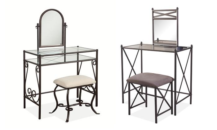 Majestic Design Ideas Home Depot Office Furniture Linon: 2-Piece Vanity Sets