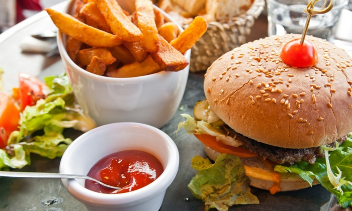 Fego Caffé - Durban North - Durban: Any Burger and Chips with a Beer for Two, Four or Six from R124 at Fego Caffé - Durban North (Up to 55% Off)