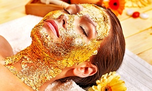 KB Beauty Salon: One or Three Shahnaz Gold-Facial Treatments at KB Beauty Salon (Up to 53% Off)