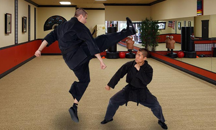 United Studios of Self Defense - Multiple Locations: Martial-Arts or Self-Defense Classes at United Studios of Self Defense (91% Off). Two Options Available.