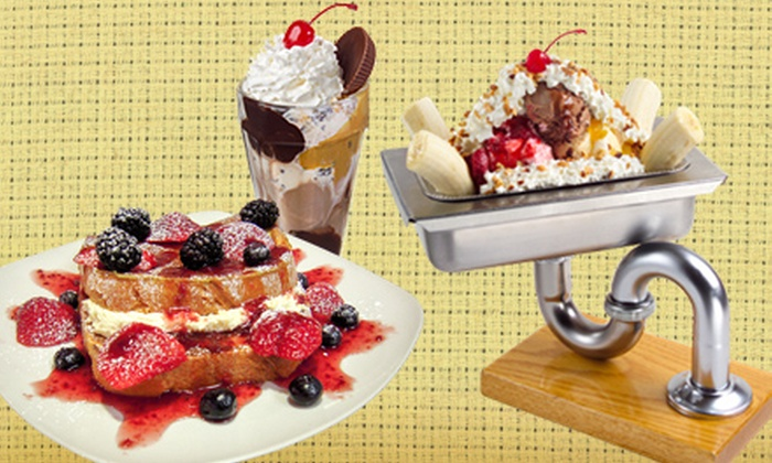 Colonial Cafe & Ice Cream - Multiple Locations: $5 for $10 Worth of Breakfast, Lunch, Dinner, or Ice Cream at Colonial Cafe & Ice Cream