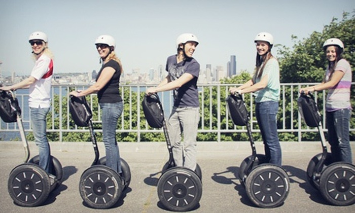 West Coast Entertainment - Multiple Locations: 75-Minute Segway Tour of West Seattle or Two-Hour Tour of Downtown from West Coast Entertainment (Up to 61% Off)