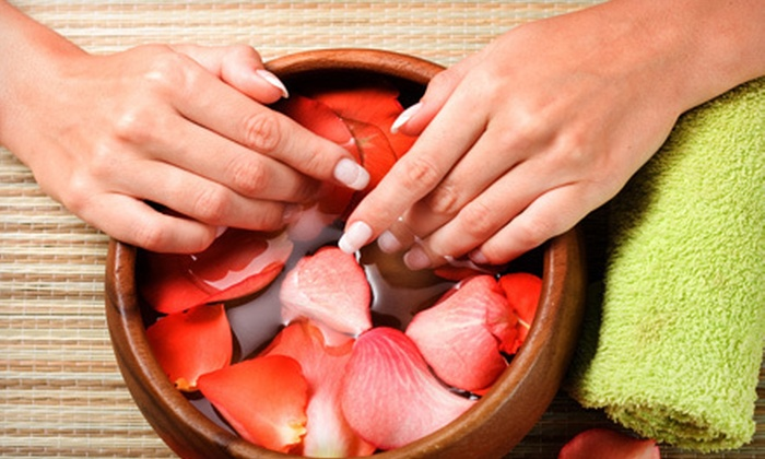 The Retreat Salon and Day Spa - Dublin: One, Four, or One Year's Worth of 60-Minute Shellac Manicures at The Retreat Salon and Day Spa (Up to 69% Off)