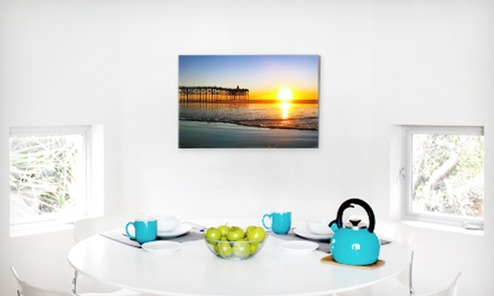 """CanvasPop: $45 for a 16""""x20"""" Gallery-Wrapped Custom Canvas Print with Shipping from CanvasPop ($113 Value)"""
