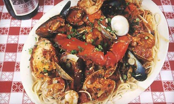 Daddy Jack's - Southlake Town Square: Lobster and Fresh Seafood for Lunch or Dinner at Daddy Jack's (Half Off). Three Options Available.