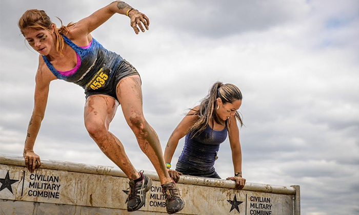 Civilian Military Combine - Delaware County Veterans Memorial: Civilian Military Combine Obstacle-Race Entry for One or Two on Saturday, September 13 (45% Off)